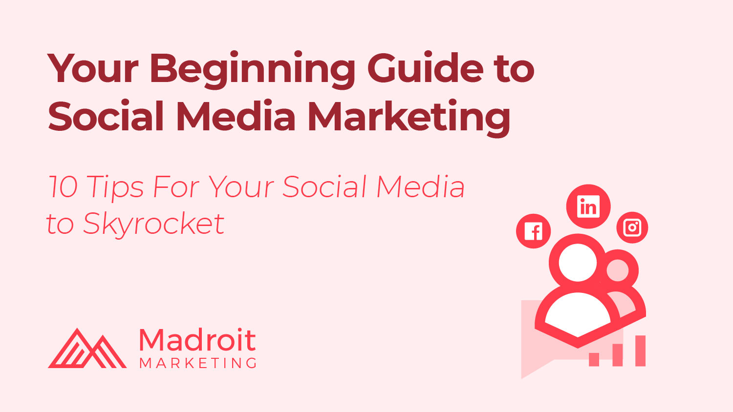 your beginning guide to social media marketing